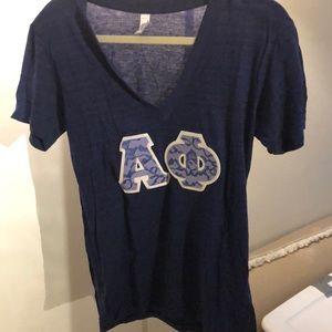 Alpha Phi Letter Shirt
